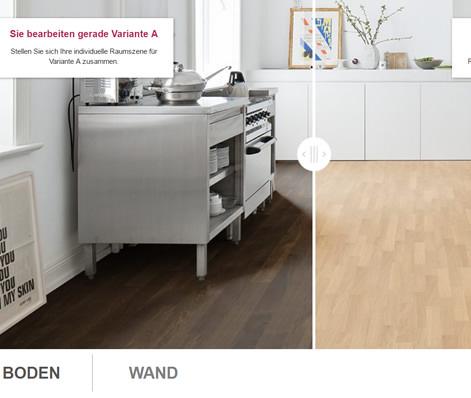 Living by HARO Bodenstudio Vergleichsfunktion