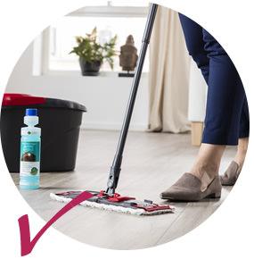 Pflegeleichte Fußböden