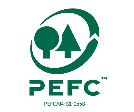 PEFC-zertifiziertes Parkett