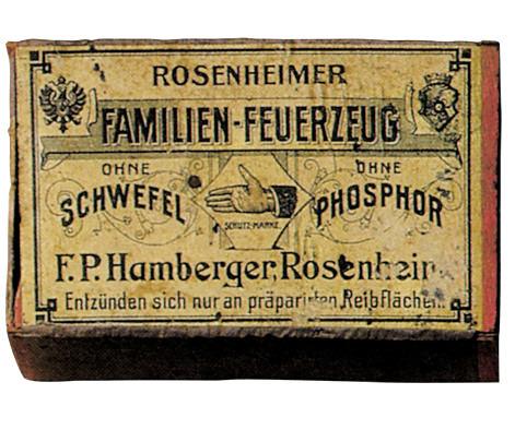 Zündhölzer von Hamberger