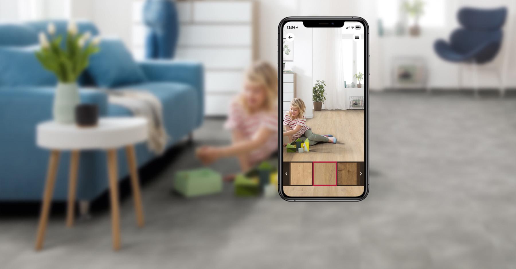 Room Visualizer - Sofortige Ansicht Ihres Wunschbodens bei Ihnen zu Hause!